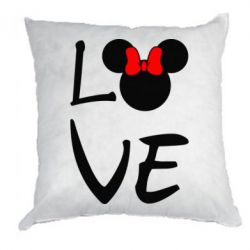 Подушка Love Mickey Mouse (female) - FatLine