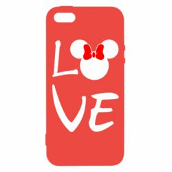 Чехол для iPhone5/5S/SE Love Mickey Mouse (female) - FatLine