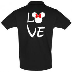 Футболка Поло Love Mickey Mouse (female) - FatLine
