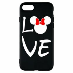 Чехол для iPhone 7 Love Mickey Mouse (female) - FatLine