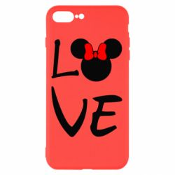 Чехол для iPhone 7 Plus Love Mickey Mouse (female) - FatLine