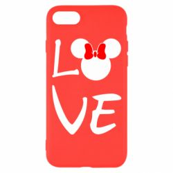 Чехол для iPhone 8 Love Mickey Mouse (female) - FatLine