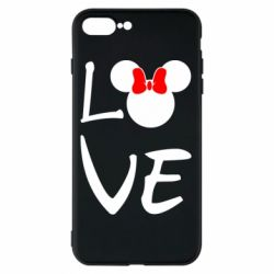 Чехол для iPhone 8 Plus Love Mickey Mouse (female) - FatLine
