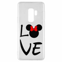Чехол для Samsung S9+ Love Mickey Mouse (female) - FatLine