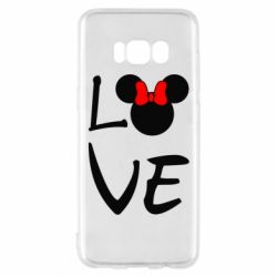 Чехол для Samsung S8 Love Mickey Mouse (female) - FatLine