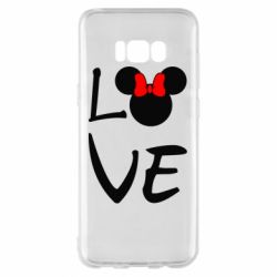 Чехол для Samsung S8+ Love Mickey Mouse (female) - FatLine
