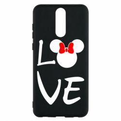 Чехол для Huawei Mate 10 Lite Love Mickey Mouse (female) - FatLine