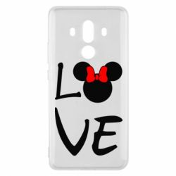 Чехол для Huawei Mate 10 Pro Love Mickey Mouse (female) - FatLine