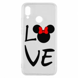 Чехол для Huawei P20 Lite Love Mickey Mouse (female) - FatLine