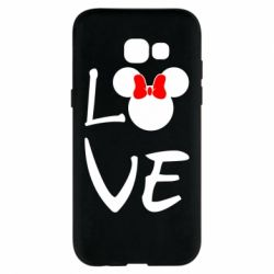 Чехол для Samsung A5 2017 Love Mickey Mouse (female) - FatLine