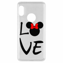 Чехол для Xiaomi Redmi Note 5 Love Mickey Mouse (female) - FatLine