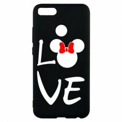 Чехол для Xiaomi Mi A1 Love Mickey Mouse (female) - FatLine