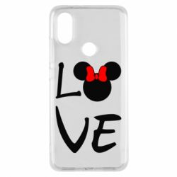 Чехол для Xiaomi Mi A2 Love Mickey Mouse (female) - FatLine