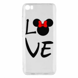 Чехол для Xiaomi Xiaomi Mi5/Mi5 Pro Love Mickey Mouse (female) - FatLine