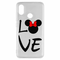 Чехол для Xiaomi Mi8 Love Mickey Mouse (female) - FatLine