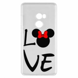 Чехол для Xiaomi Mi Mix 2 Love Mickey Mouse (female) - FatLine