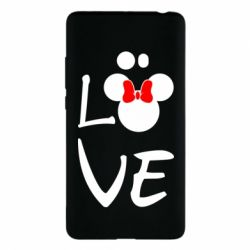 Чехол для Xiaomi Mi Note 2 Love Mickey Mouse (female) - FatLine