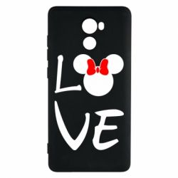 Чехол для Xiaomi Redmi 4 Love Mickey Mouse (female) - FatLine