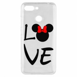 Чехол для Xiaomi Redmi 6 Love Mickey Mouse (female) - FatLine