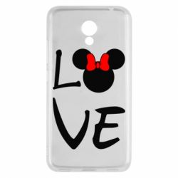 Чехол для Meizu M5c Love Mickey Mouse (female) - FatLine