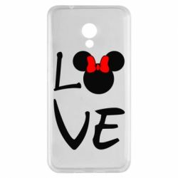 Чехол для Meizu M5s Love Mickey Mouse (female) - FatLine