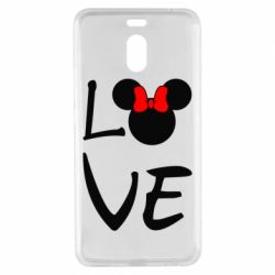Чехол для Meizu M6 Note Love Mickey Mouse (female) - FatLine