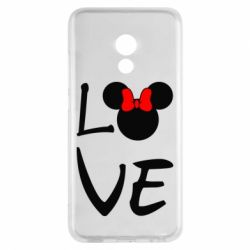 Чехол для Meizu Pro 6 Love Mickey Mouse (female) - FatLine