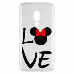 Чехол для Meizu 15 Love Mickey Mouse (female) - FatLine