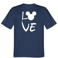 Чоловіча футболка Love Mickey Mouse (male)