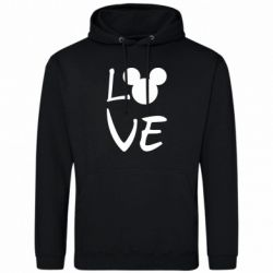 Чоловіча толстовка Love Mickey Mouse (male)