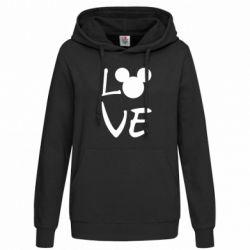 Толстовка жіноча Love Mickey Mouse (male)