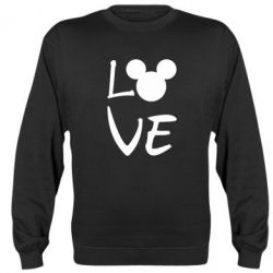 Реглан (світшот) Love Mickey Mouse (male)