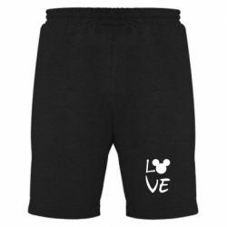 Мужские шорты Love Mickey Mouse (male)