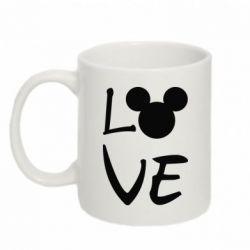 Купить Кружка 320ml Love Mickey Mouse (male), FatLine