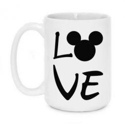Кружка 420ml Love Mickey Mouse (male)
