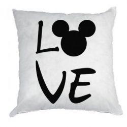 Подушка Love Mickey Mouse (male)