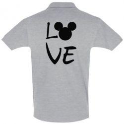 Футболка Поло Love Mickey Mouse (male)
