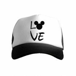 Дитяча кепка-тракер Love Mickey Mouse (male)