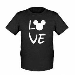 Дитяча футболка Love Mickey Mouse (male)