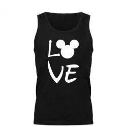 Майка чоловіча Love Mickey Mouse (male)