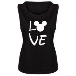 Майка жіноча Love Mickey Mouse (male)