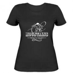 Жіноча футболка Love mountains