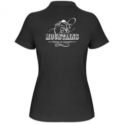 Жіноча футболка поло Love mountains