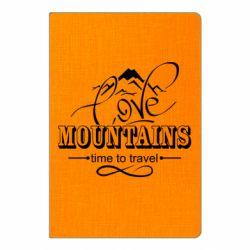 Блокнот А5 Love mountains