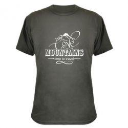 Камуфляжна футболка Love mountains