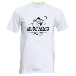 Чоловіча спортивна футболка Love mountains