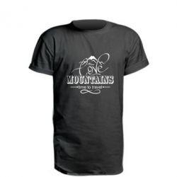 Подовжена футболка Love mountains