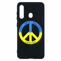 Чехол для Samsung M40 Love,peace, rock'n'roll, Ukraine