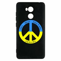 Чехол для Xiaomi Redmi 4 Pro/Prime Love,peace, rock'n'roll, Ukraine - FatLine