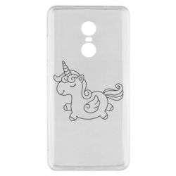 Чехол для Xiaomi Redmi Note 4x Little unicorn with wings